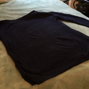 Talbots blue long sleeve